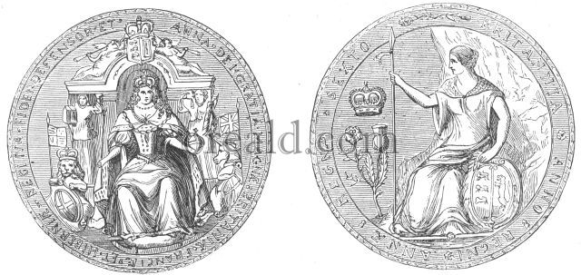 Great seal of Queen Anne