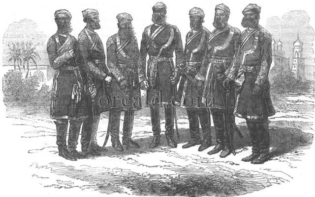 Officers of the Bombay army