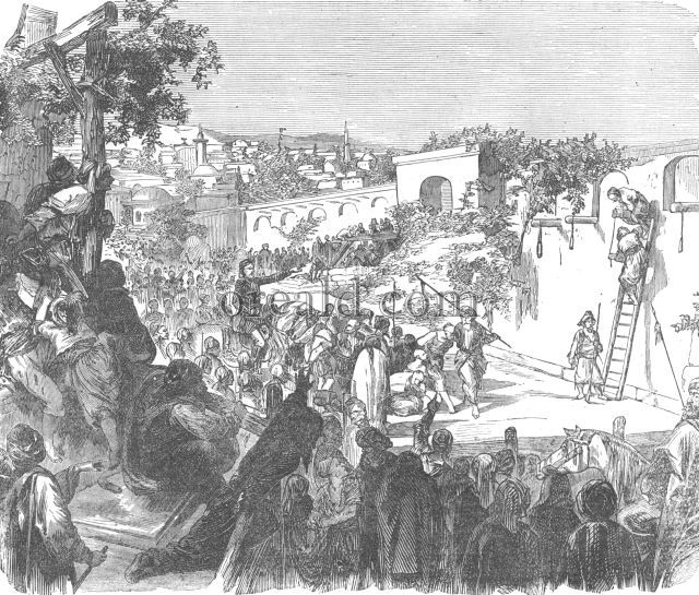 Execution of Druses near Damascus