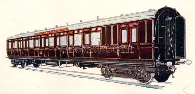 Composite Brake Corridor Carriage, No. 7672