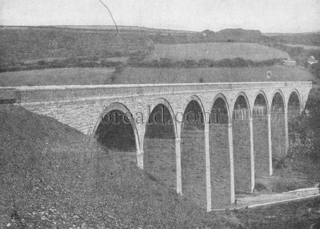 . . . these substantial stone structures. Gover Viaduct.