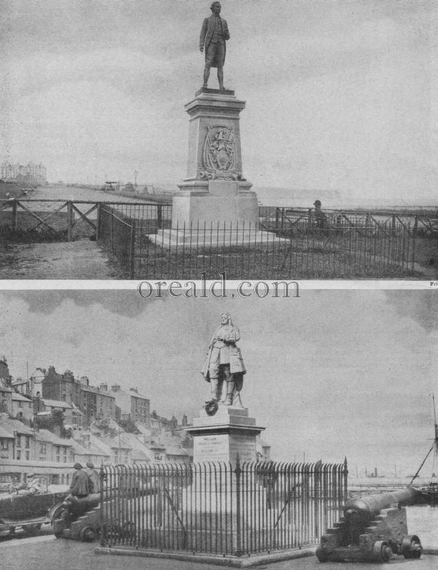 WILLIAM OF ORANGE AT THE PLACE OF HIS LANDING, AND CAPTAIN COOK AT WHITBY
