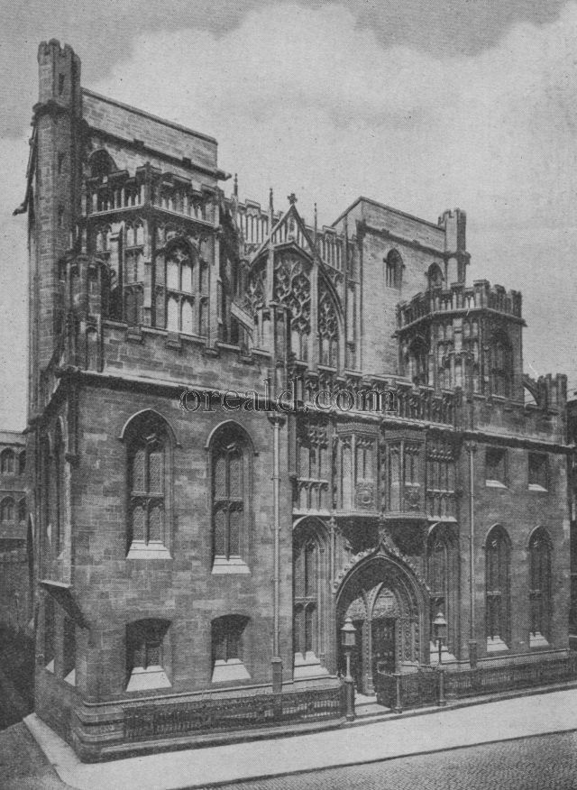THE JOHN RYLANDS GIFT TO THE NATION