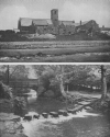 STEPPING STONES AT JESMOND DENE, AND THE OLD CHURCH AT JARROW