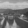 WATERWAY TO THE HIGHLANDS: LOCKS AT FORT AUGUSTUS ON THE CALEDONIAN CANAL