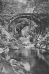 ROMAN BRIDGE AT BETTWS-Y-COED