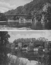 A RAILWAY BRIDGE AT CRAIGELLACHIE, AND THE BRIDGE ACROSS THE WYE AT WILTON