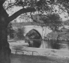 A FAMOUS SCOTTISH BRIDGE: OLD BRIG O' BALGOWNIE ACROSS THE DON AT ABERDEEN