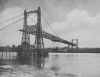 GREAT TRANSPORTER BRIDGE WHICH SWINGS ITS LENGTH ACROSS MERSEY AND SHIP CANAL