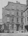 HOUSE IN GOUGH SQUARE WHERE DR. JOHNSON LIVED. A MUSEUM OF HIS LITERARY RELICS