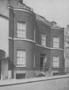 THACKERAY'S HOUSE IN YOUNG STREET