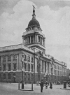 THE NEW OLD BAILEY, CROWNED BY THE STATUE OF JUSTICE