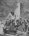 THE ARREST OF JACK SHEPPARD IN WILLESDEN CHURCHYARD