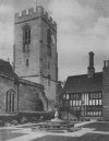 S. JOHN BAPTIST CHURCH AND THE OLD GUILDHALL AT HENLEY-IN-ARDEN