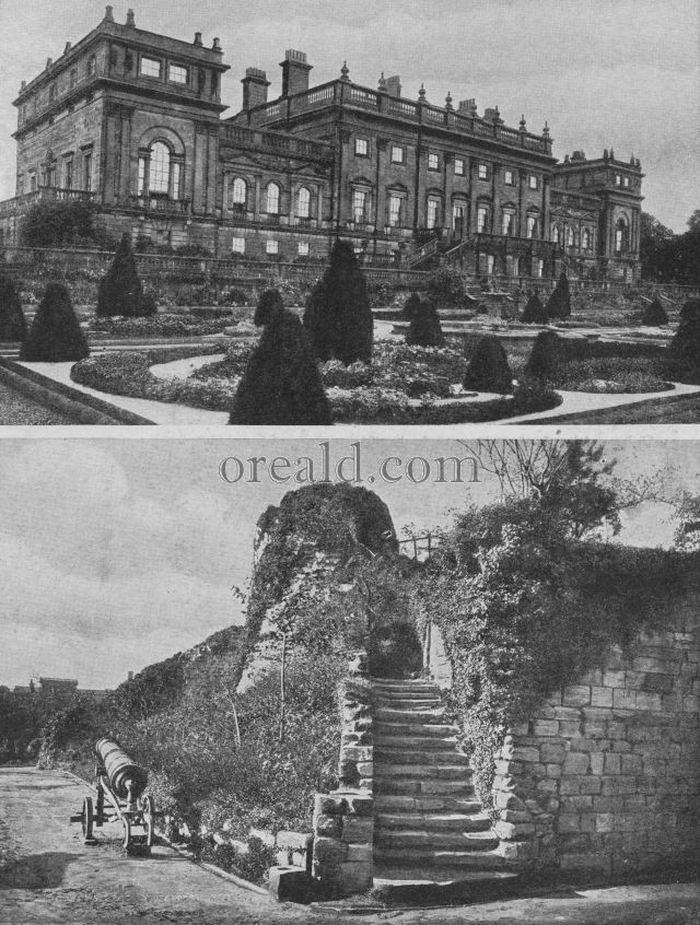 DE LACY'S KEEP AT PONTEFRACT CASTLE, AND THE HOME OF THE EARLS OF HAREWOOD