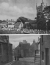 THE HEART OF CULROSS TOWN AND THE ABBEY HOUSE AND GRAVEYARD