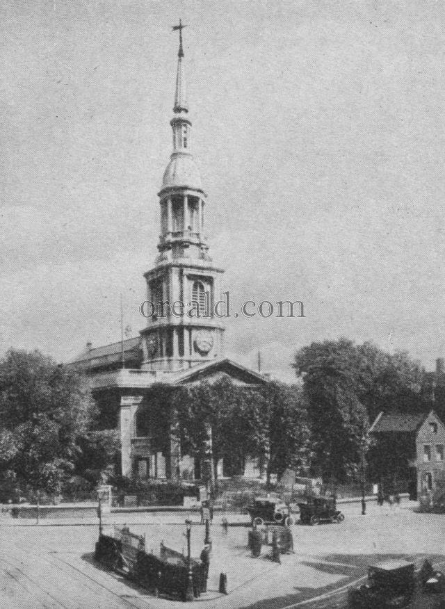Shoreditch Church: Picture SHOREDITCH CHURCH