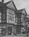HANDFORTH HALL, PERFECT EXAMPLE OF A TUDOR MANSION