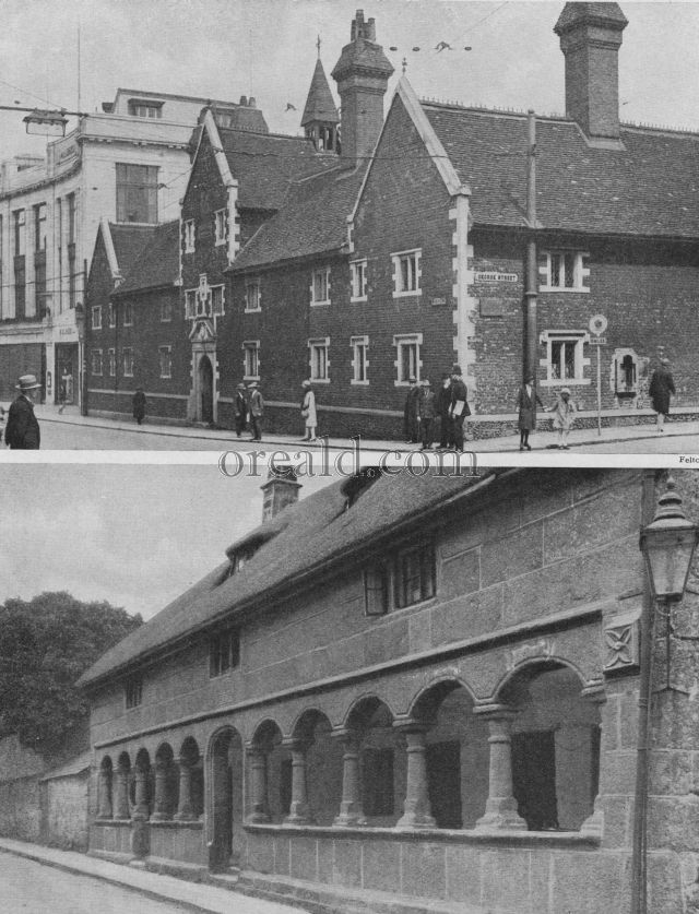 MORETON HAMPSTEAD'S ALMSHOUSE AND THE WHITGIFT HOSPITAL, CROYDON