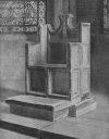 S. AUGUSTINE'S CHAIR, CANTERBURY