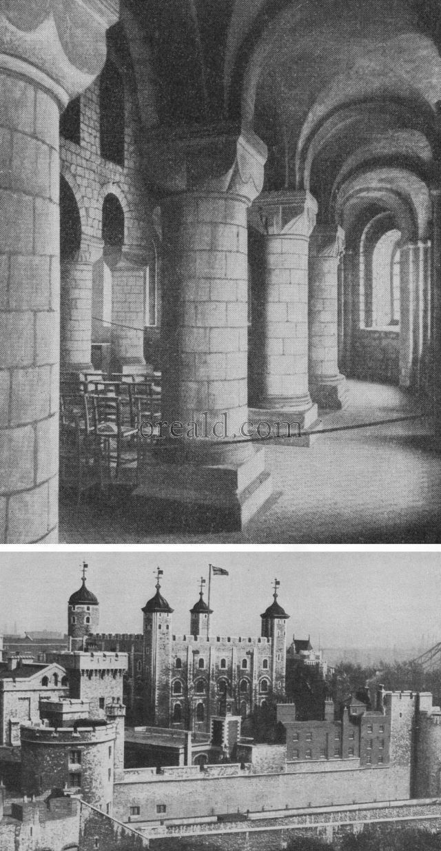 LONDON'S NORMAN KEEP: THE WHITE TOWER AND ITS CHAPEL