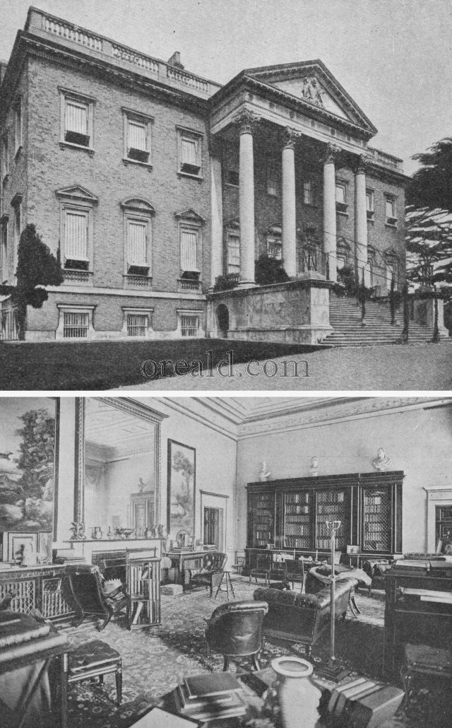 CLAREMONT HOUSE AND ITS LIBRARY, BUILT FOR THE GREAT LORD CLIVE
