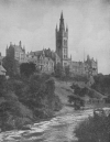 GLASGOW UNIVERSITY SET MAGNIFICENTLY UPON A HILL ABOVE THE KELVIN