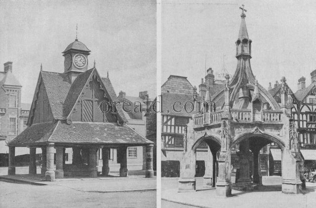 MARKET CROSSES AT WITNEY AND SALISBURY, SURVIVALS OF A MEDIEVAL IDEA
