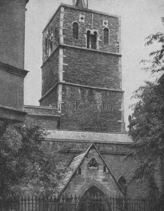 SAXON TOWER OF ST. BENET'S, CAMBRIDGE