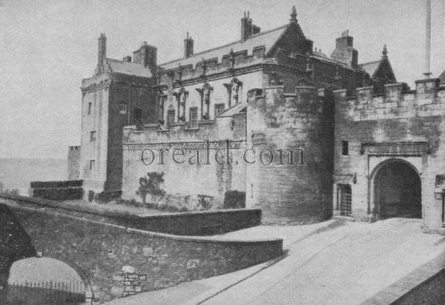 THE PALACE AT STIRLING, HOME OF SCOTTISH ROYALTY