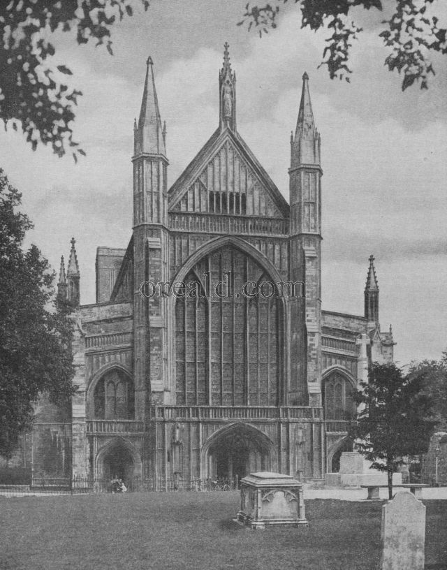 WINCHESTER'S GREAT CATHEDRAL OF THE HOLY AND INDIVISIBLE TRINITY