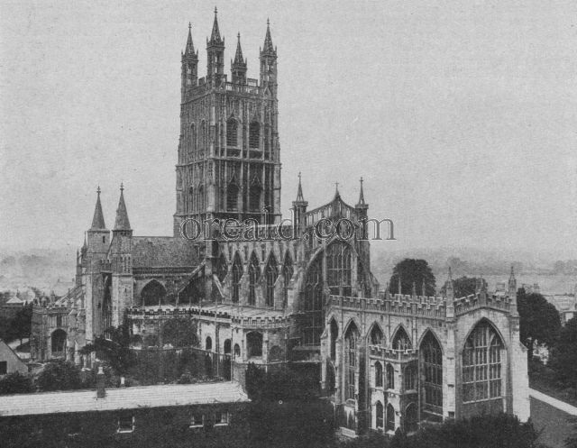 GLOUCESTER'S ABBEY CHURCH MADE A CATHEDRAL AT THE DISSOLUTION