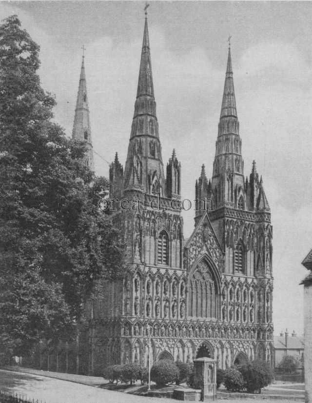 CATHEDRAL CHURCH OF S. MARY AND S. CHAD AT LICHFIELD