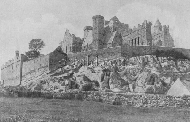 CASHEL'S FORTIFIED CATHEDRAL, BUILT UPON A LIMESTONE CRAG