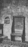 BEDE'S CHAIR IN JARROW CHURCH