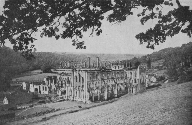 REMAINS OF THE EARLIEST CISTERCIAN HOUSE IN YORKSHIRE: RIEVAULX IN ITS LOVELY VALE