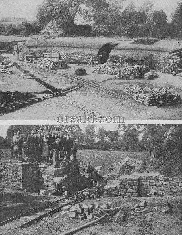 EXCAVATING THE GREAT AMPHITHEATRE OF CAERLEON, WHICH ONCE SAW ROMAN GAMES