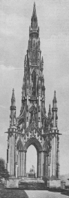 EDINBURGH'S GREAT SCOTT MONUMENT