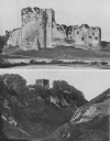 CHEPSTOW, THAT HELD THE PASSAGE OF THE SEVERN, AND THE CASTLE OF 'PEVERIL OF THE PEAK'