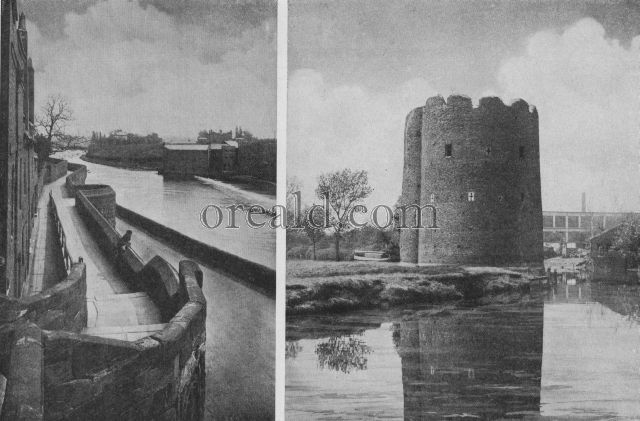 The Splendid Walls of Chester and the Cow Tower Which Survives at Norwich