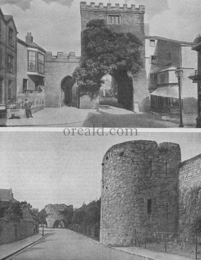 DEFENCES OF TENBY, AND LAUNCESTON'S SOUTH GATE