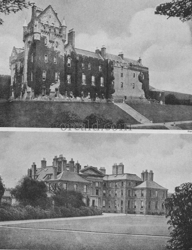 DALKEITH OF THE BUCCLEUCHS, AND BRODICK CASTLE ON THE SHORE OF LOVELY ARRAN
