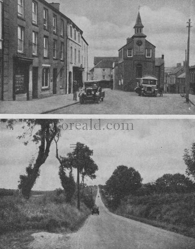 THE APPROACH TO HAVERFORDWEST: NARBERTH IN LITTLE ENGLAND IN WALES