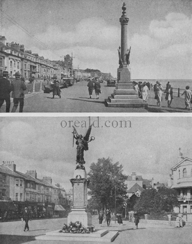 TWO SUSSEX MEMORIALS: EASTBOURNE'S VICTORY AND THE OBELISK ON HASTINGS PARADE