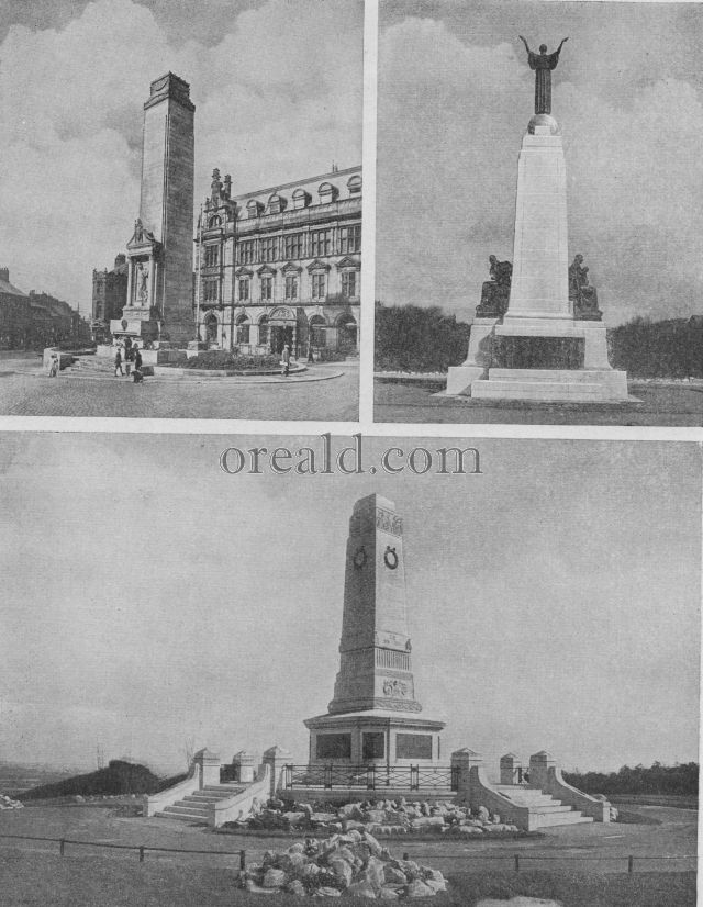 THE GRAND MONUMENT AT BARROW-IN-FURNESS; PRESTON AND ST. ANNE'S