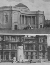 GLASGOW'S CENOTAPH. AND THE NEW EXTENSION TO THE ABERDEEN ART GALLERY