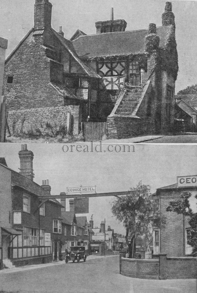 DITCHLING'S FAMOUS MANOR AND CRAWLEY'S OLD-WORLD INN