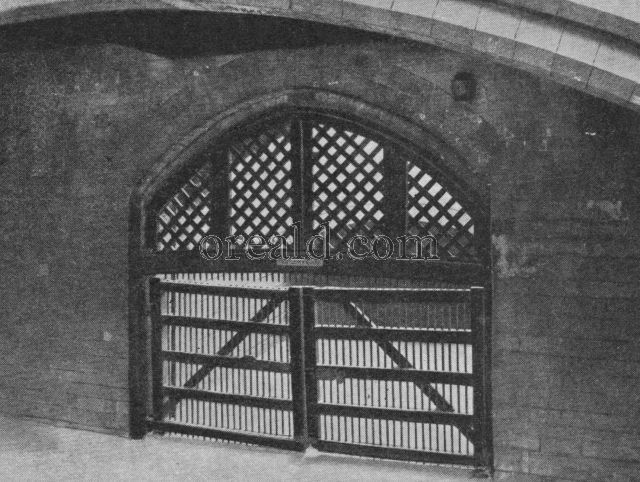 Traitors Gate and Middle Gate, Tower of London