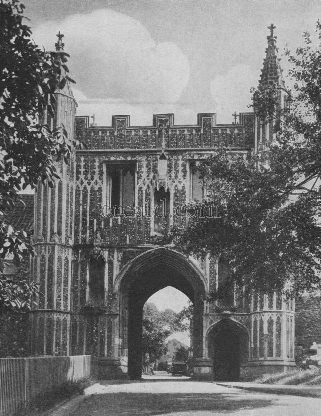 Gateway to the Vanished Abbey of S. John Baptist, Colchester