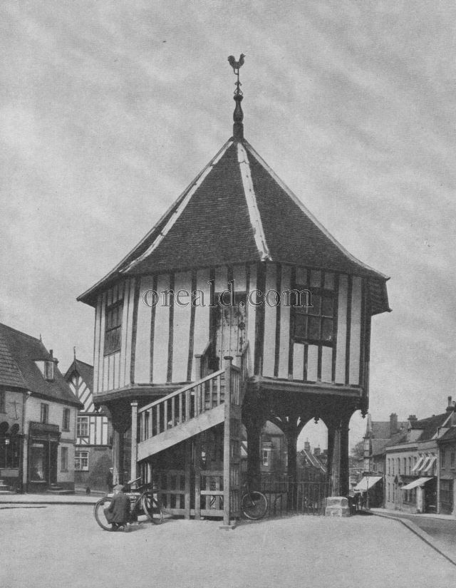 Wymondham's Market House, a fine relict of the Sixteenth century